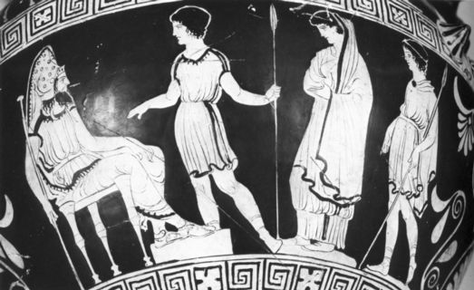 odysseus and antigone I engage in close readings of four sophoclean dramas (antigone, ajax,  here  we might think of both odysseus in ajax and theseus in oedipus at colonus.